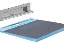 Duschsystem Muro wall drain